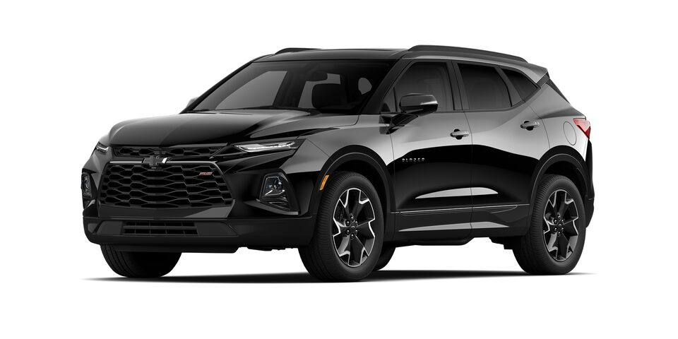 Chevrolet Blazer 2021 color negro